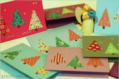 DIY christmas cards   Flickr - Photo Sharing!