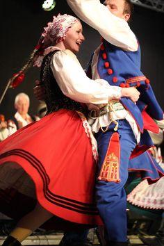 Regional costumes from Rzeszów, Poland