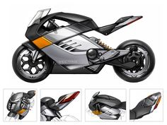 Vectrix Electric Superbike Concept Sketches