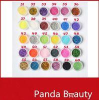 30 colores mezclados pigmento en polvo del brillo de la lentejuela Mineral Eyeshadow 30pcs Maquillaje Uno Set Maquillaje profesional