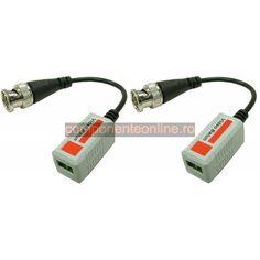 Transmitator pasiv pe cablu UTP (Video Balun) - 110770 Multimedia, Ipod, Cable, Laptop, Usb, Electronics, Cabo, Ipods, Electrical Cable