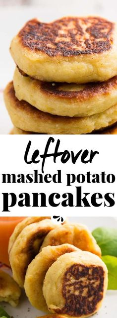 Do you have lots of mashed potatoes left over? Try this easy recipe for Leftover Mashed Potato Pancakes with Cheese! Made with 4 simple ingredients and ready in just 15 minutes, they make the best quick meal or appetizer. Served with applesauce or your favorite toppings, they are great for breakfast or lunch. They also make a great dinner side dish! Pan fried to crispy perfection, the inside turns out super fluffy and cheesy! Click through now to learn how to make this homemade savory treat…