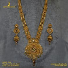 Gold 916 Premium Design Get in touch with us on Bridal Necklace, Wedding Jewelry, Gold Necklace, Gold Jewellery Design, Gold Jewelry, Mens Gold Bracelets, Gold Mangalsutra, Gold Set, Necklace Designs
