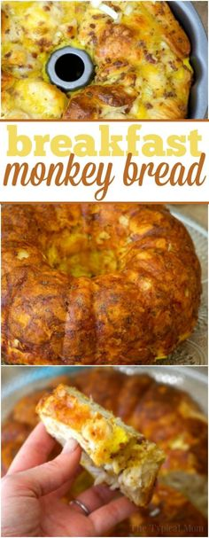Bacon egg and cheese breakfast bundt cake is amazing and so easy!! You've got to make this at home, it is savory and...