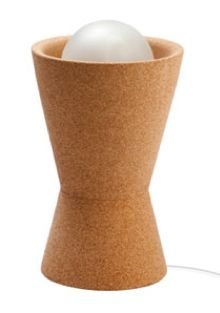 Table #Lamp made of #cork | 100% #sustainable and #vegan | CHF 280.00 | free delivery & return within Switzerland