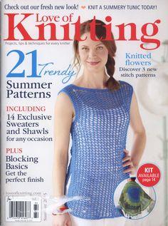 Love of Knitting - Summer 2015