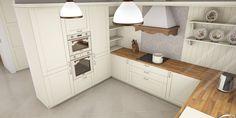 Kuchyňa provence Kitchen Cabinets, Storage, Provence, Furniture, Home Decor, Purse Storage, Decoration Home, Room Decor, Cabinets