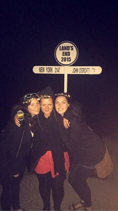 Lands end at midnight