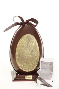 Pâques, #Puyricart remplace les tickets d'or par des diamands #paques #2016 #easter #chocolate