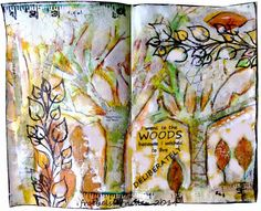 """""""Deep In The Forest"""" at Art Journal Journey"""