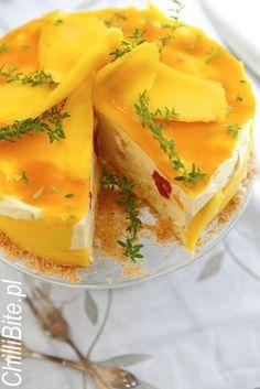 ChilliBite.pl - motywuje do gotowania! Świetne przepisy, autorskie zdjęcia i dobra energia :): Sernik jogurtowy z mango