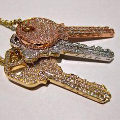 blinged keys