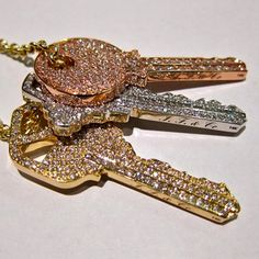 blinged keys