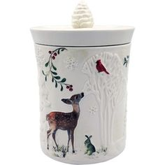 Better Home And Gardens Christmas Ideas 4 better homes and gardens heritage collection winter christmas better homes and gardens deer cookie jar workwithnaturefo