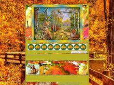 Thème gratuit Bonjour l'automne sur Hitskin.com