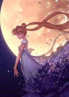 girlsbydaylight: Sailor Moon by 韩一杰 on pixiv