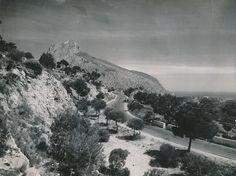 Paisaje de la carretera de Valencia-Alicante   por Biblioteca Facultad de Empresa y Gestión Pública
