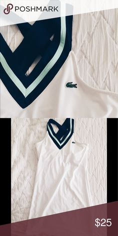 Lacoste Sport Dress Size: M Adorable Lacoste dress with built in bra. Unworn. Perfect for on the courts or with a sporty windbreaker! Size: 38 (Lacoste medium. Lacoste Dresses Mini