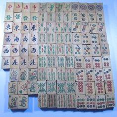 Mah Jong Tindeco Tin Set Feb 1923