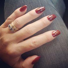 Hermosas mis uñas!!