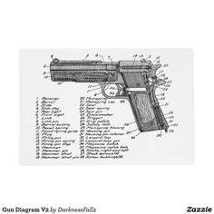 Glock Diagram Gunsmithing Firearms Guns Weapons