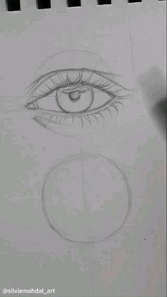 Art Drawings Sketches Simple, Pencil Art Drawings, Realistic Drawings, Cool Drawings, Drawing Techniques, Drawing Tips, Art Tutorials, Digital Painting Tutorials, Beauty Art