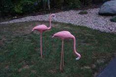 Cast iron flamingo's - $100 (Southampton, Ma)