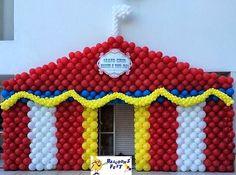 tenda de circo baloes - Pesquisa Google