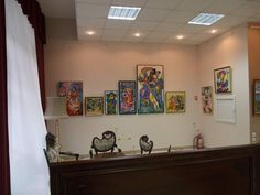 "Stela Vesa Exhibition – House-Gallery ""Princess Anastasia"" – Anastasia Art"