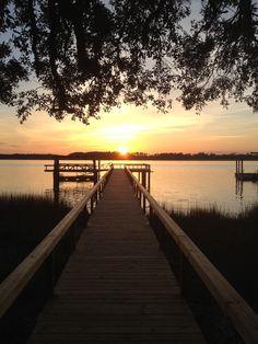 Wilmington Island, Ga Sunset