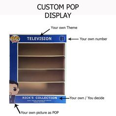 Custom POP Display Case - Awesome Toyz