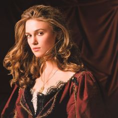 Keira Knightley - Elisabeth Swann, Pirates of the Caribbean Elizabeth Swann, Keira Knightley Pirates, Keira Christina Knightley, Captain Jack Sparrow, Pretty People, Beautiful People, Pirates Of The Caribbean, Amanda Seyfried, Girl Crushes