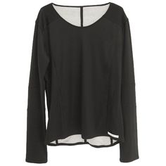 zero - Reversible Multiple Cut Double Layered Jersey / Front - 24,200JPY