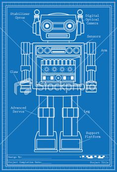easy robot blueprints wwwpixsharkcom images