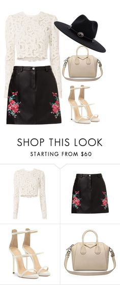 """Untitled #644"" by foxessx ❤ liked on Polyvore featuring A.L.C., Giuseppe Zanotti, Givenchy and Brixton"
