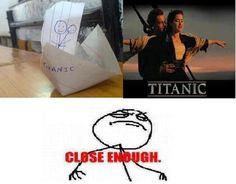 Funny Memes - Titanic