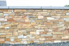 Quartz Stone Cladding and Granite Wall Capping
