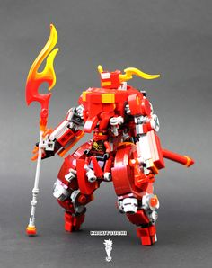 Kai's Mech was inspired by both a djin and a oni, and it is a close quarter combat mech, with builkier armor but with boosters on both knees and the back for extra mobility both on ground and air. The spear tip is actually an alloy that deploys that is super heated and can cut thru most known surfaces. This is the first variation of the new frame I designed, it covers the pilot more and it is more complex in some ways, but I really liked how the design turned out. Next on the line up, is ...