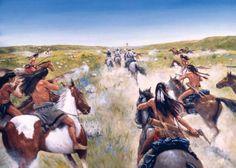 Little Bighorn-Reno's run
