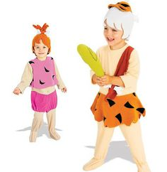 Halloween Howl: Halloween Costume Ideas for Twins (Kids Costumes) - Pebbles and Bam Bam Toddler Costumes