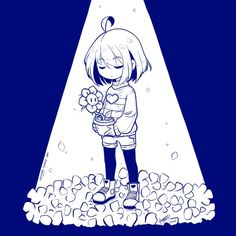 grafika frisk, flowey, and undertale Undertale Love, Undertale Fanart, Undertale Comic, Frisk, Leprechaun, Daddy, Fanarts Anime, Anime Chibi, Anime Art