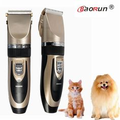 Hot Sale Professional Grooming Kit Rechargeable Pet Cat Dog Hair Trimmer Electrical Clipper Shaver Set Haircut Machine