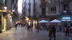 Barcelona walk- Carrer Ferran- tapas- Placa Reial- Cathedral- Gotic Quarter