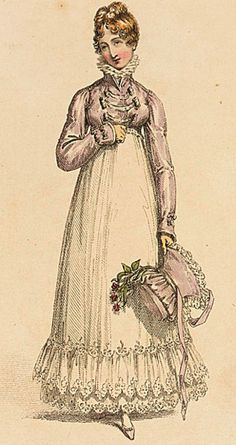 26-10-11 Walking dress, Ackerman, April 1817
