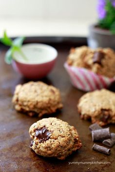 Chia and Hemp Seed Cookies for A Friend  Sub Flax Eggs for Vegan | Yummy Mummy Kitchen | A Vibrant Vegetarian Blog