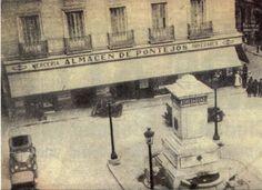 Pontejos, Sucesores de Antonio Ubillos. Plaza de Pontejos, 2. Barrio de Sol | El mochilero gráfico. Comercios antiguos e históricos de la ciudad de Madrid