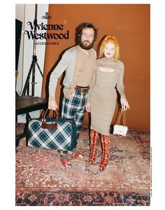 Plenty of personality in Vivienne Westwood's campaign for AW 2012-2013. See more this week on Men's Fashion Insider on OUTtv.