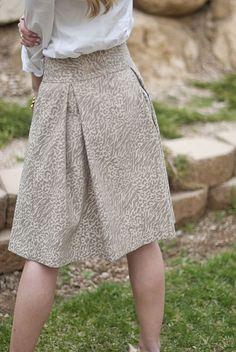 Skirt tutorial.