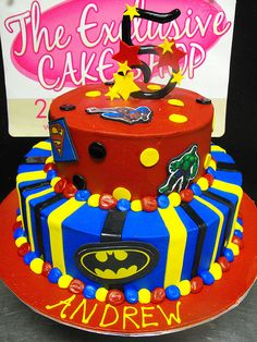Superhero Birthday Cake | Flickr - Photo Sharing!