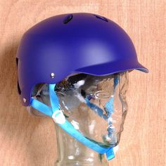 Bern Lenox EPS Women's Satin Midnight Blue Helmet Front